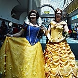 Snow White and Princess Belle