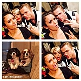 Dobrev got snap-happy with her pals the Houghs! Source: Instagram user ninadobrev
