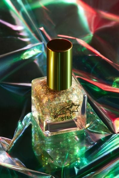 confetti-packed nail polish for Urban Outfitters