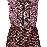 """""""I practically live in Sandro at the moment and this playsuit is one of my favorite pieces. I love the ethnic print, and it's perfect to do cartwheels in. A tribal dream."""" — Poppy Delevingne  Sandro Pantagonie Playsuit ($320)"""