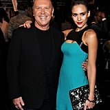 Michael Kors got a hug from Jessica after the show.