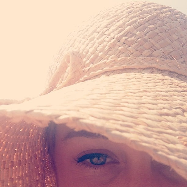 Lauren Conrad shared this up-close shot during an afternoon at the beach. Source: Instagram user laurenconrad