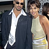 Shemar Moore and Halle Berry