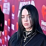 Billie Eilish With Pitch Black Hair