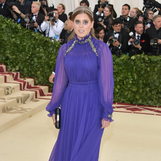 Princess Beatrice at the 2018 Met Gala