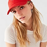 Urban Outfitters Rhinestone Heart Baseball Hat