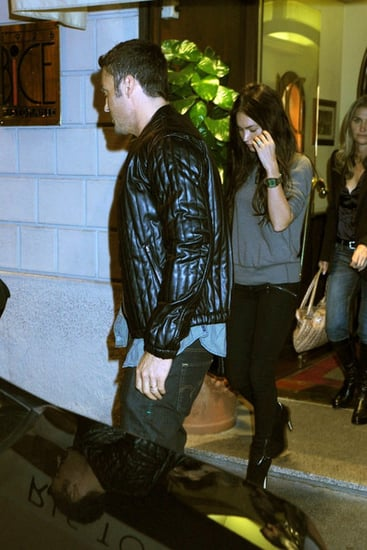 "Brian Austin Green and wife Megan Fox have dinner at ""Bice"" restaurant in Milan"