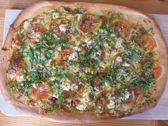 Wolfgang Puck's Four Cheese Pizza