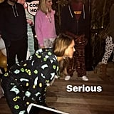 Jessica Alba's Pajama Birthday Party For Cash Warren 2017