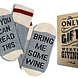Comfort Cotton Wine Socks
