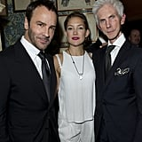 Kate Hudson celebrated the Goop Summer party with Richard Buckley and Tom Ford.