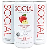 Social Sparkling Wine Elderflower Apple Four-Pack