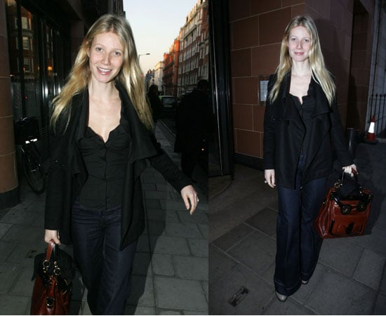 Gwyneth Is Back in London, Dealing With Hep A Scare