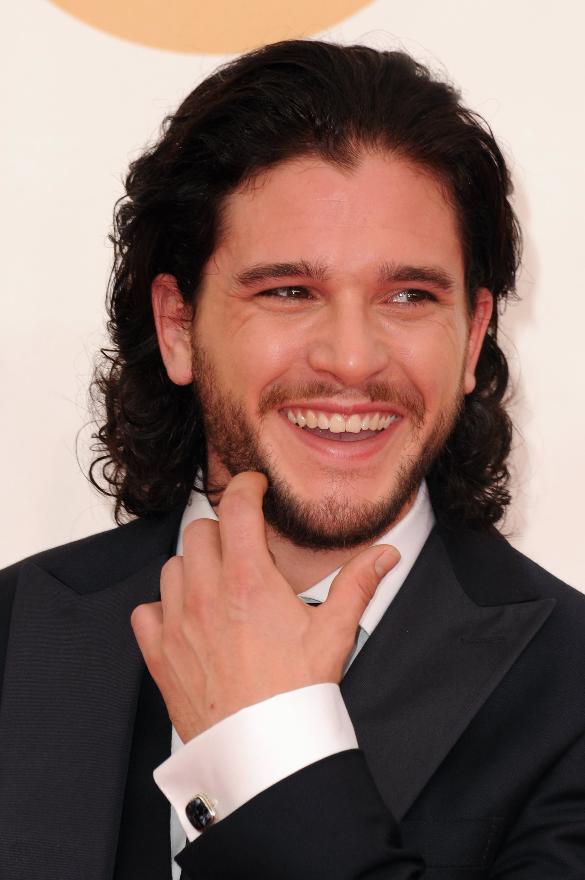Photographic Proof That Kit Harington Has a Sexy Smile