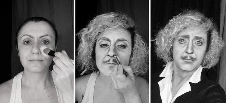 Gene Wilder as Dr. Frankenstein   Celebrity Makeup ...