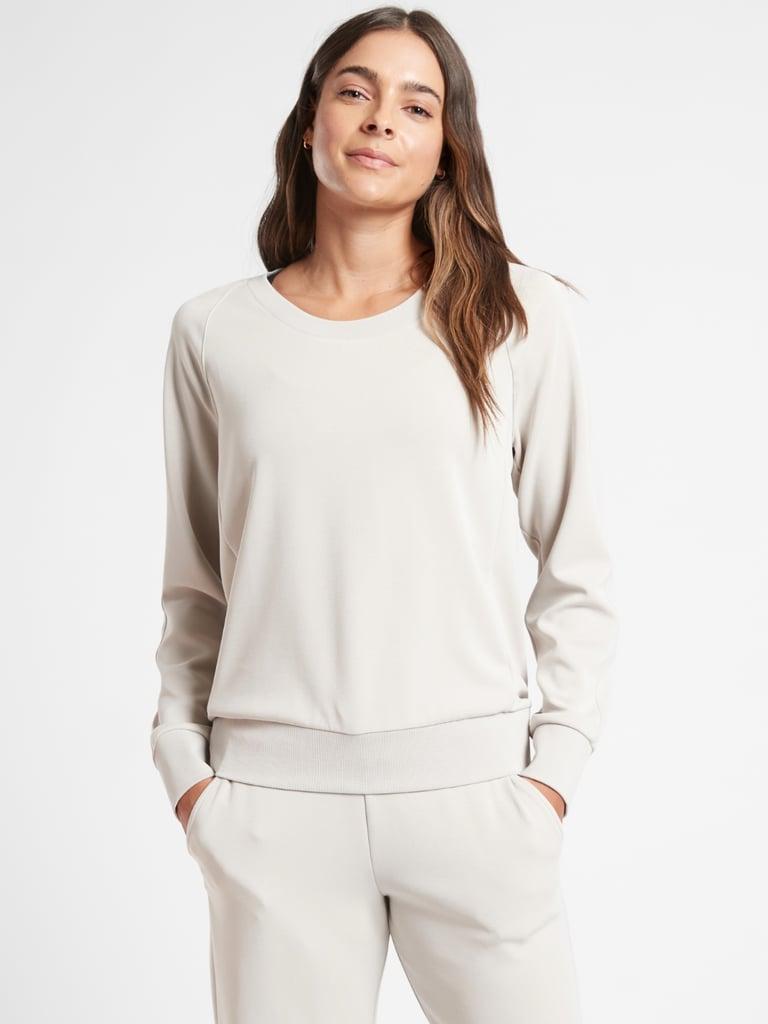 Seasoft Scoop-Neck Sweatshirt
