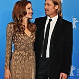 Angelina Jolie and Brad Pitt at the Berlin Film Festival.
