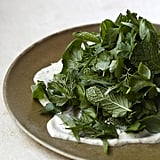 Herb Salad With Yogurt Dressing