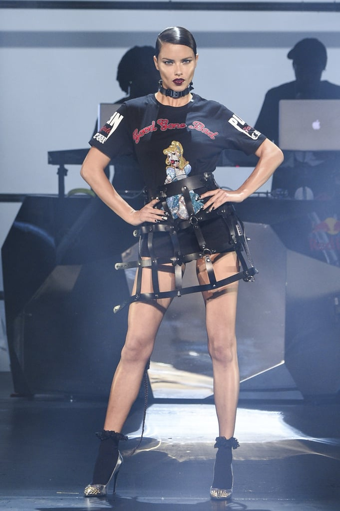 Going Punk Rock on the Runway For Philipp Plein