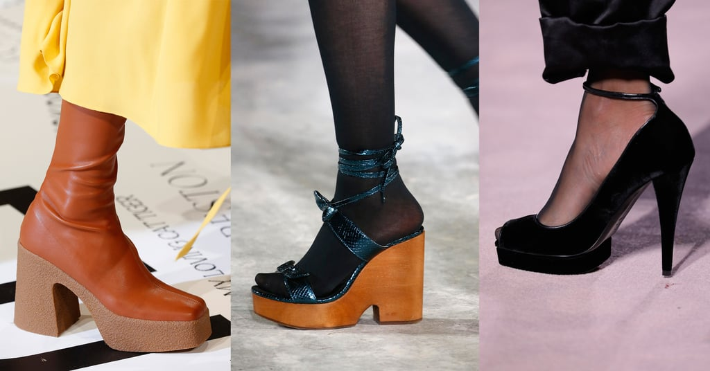 Fall 2019 Shoe Trend: Chunky Platforms