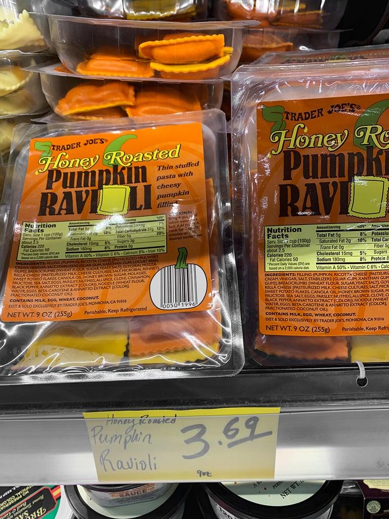 Honey Roasted Pumpkin Ravioli ($4)