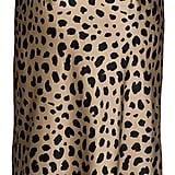 Keasmto Leopard Midi Skirt