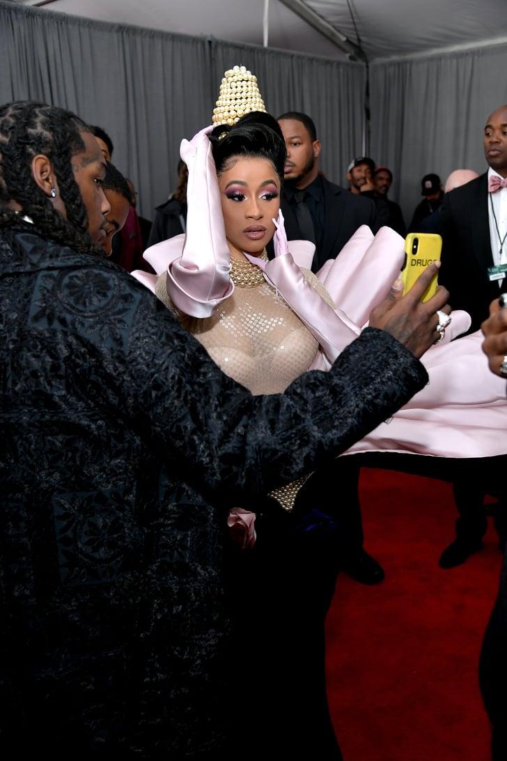 Cardi B Virginia: Cardi B At The 2019 Grammys
