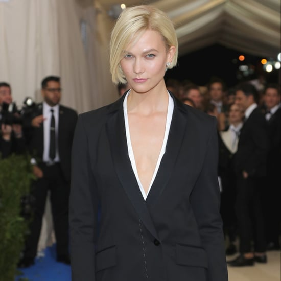 Karlie Kloss Cuts Short Blonde Bob For the Met Gala 2017