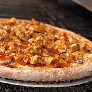 Papa John's Hot Honey Chicken & Waffles Pizza
