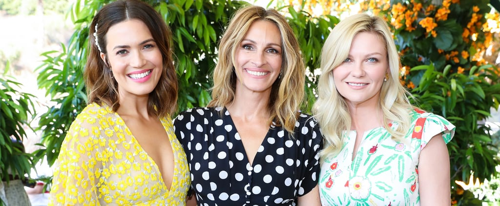 Julia Roberts Channels Her Inner Pretty Woman in Polka Dots