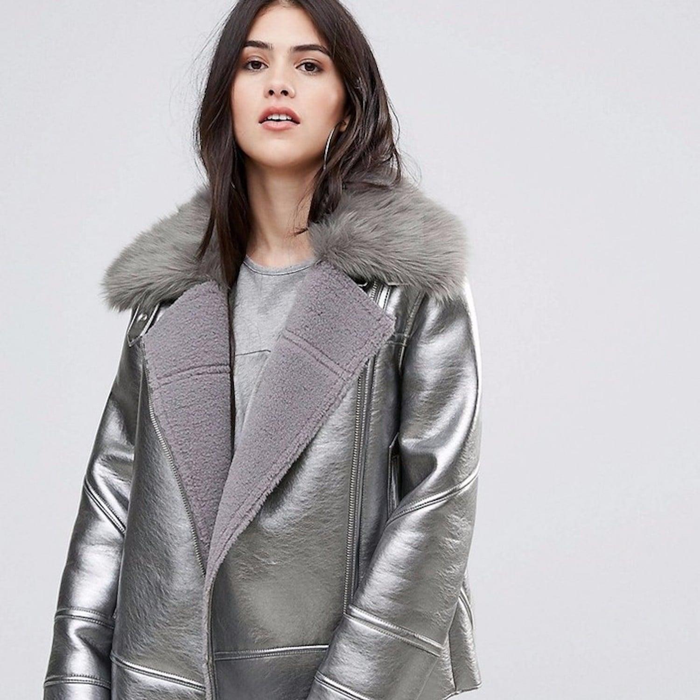 Metallic Jackets Popsugar Fashion Jacket