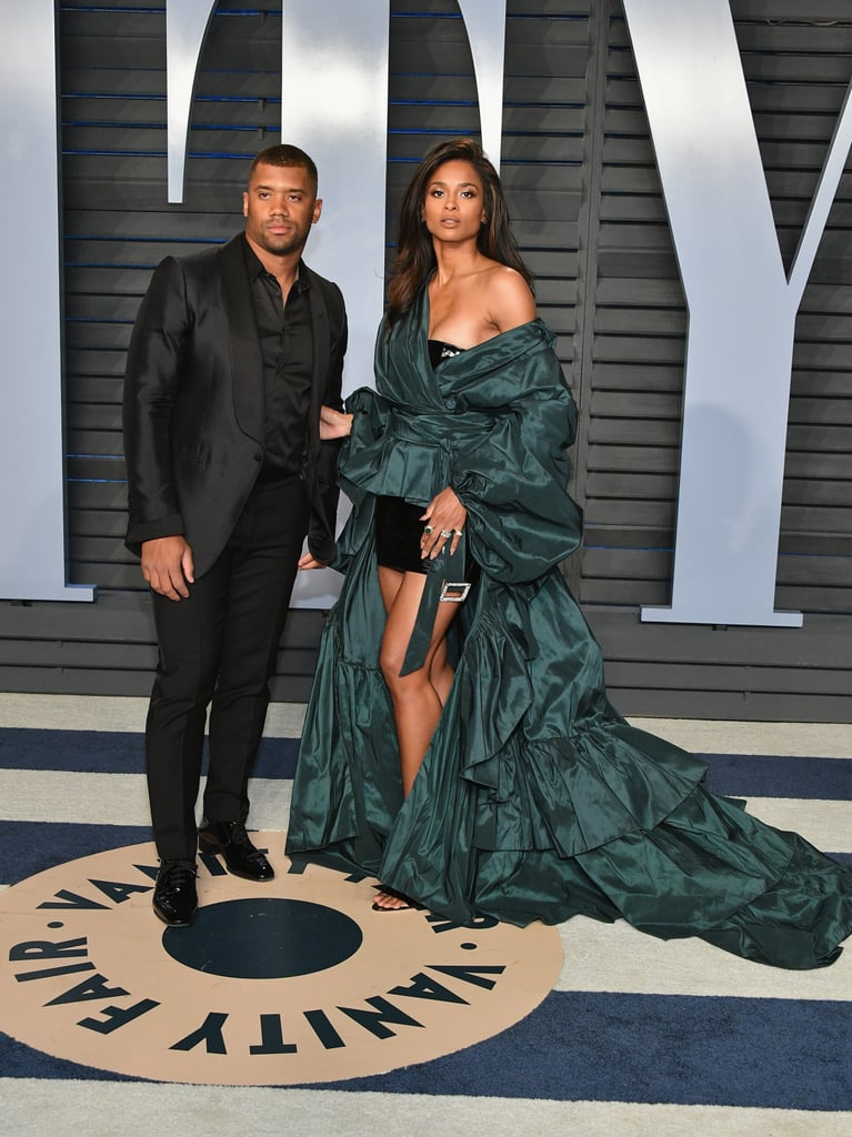 Pictured: Russell Wilson and Ciara