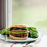 Lentil-Chickpea Burgers With Avocado Green Harissa