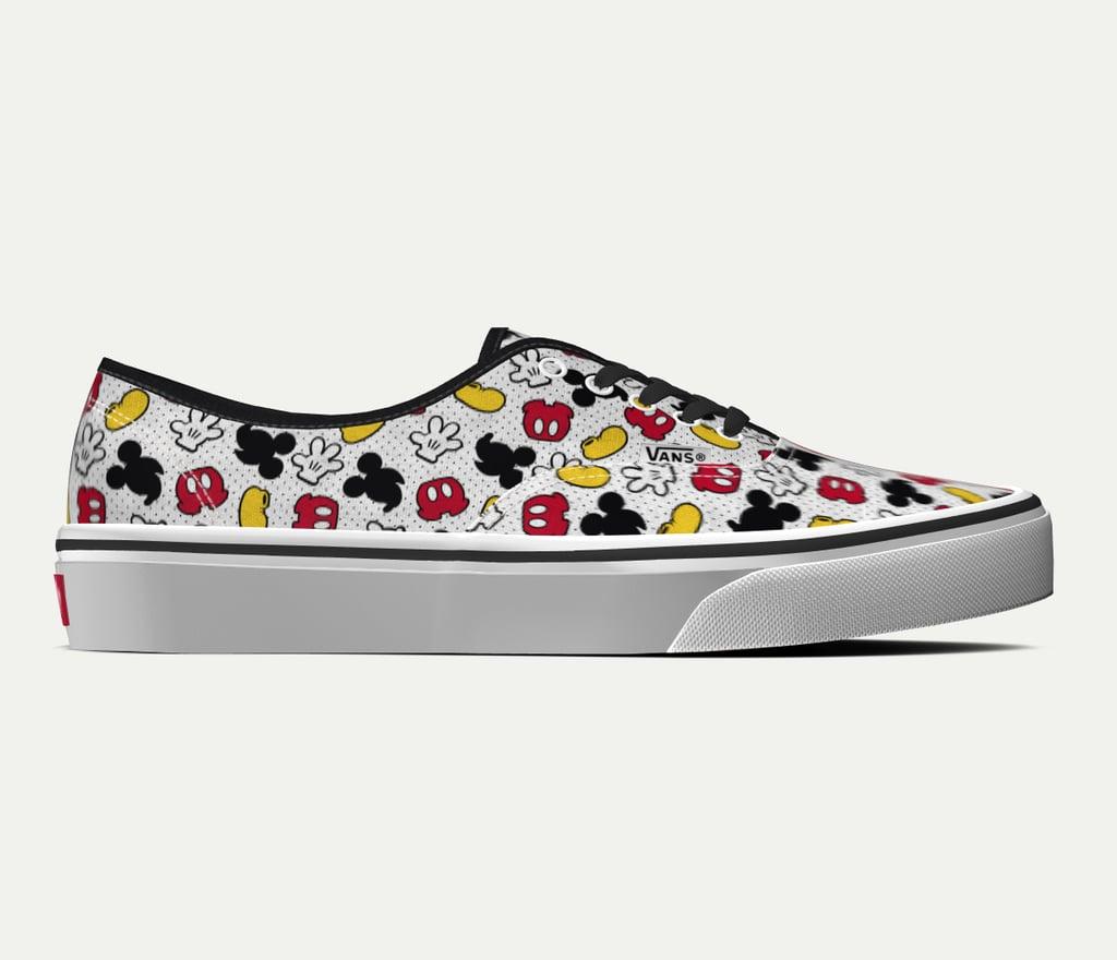 Customs Disney x Vans Authentic