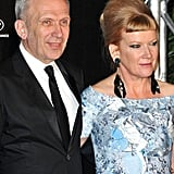 Andrea Arnold and Jean Paul Gaultier got together at the opening dinner of the Cannes Film Festival.