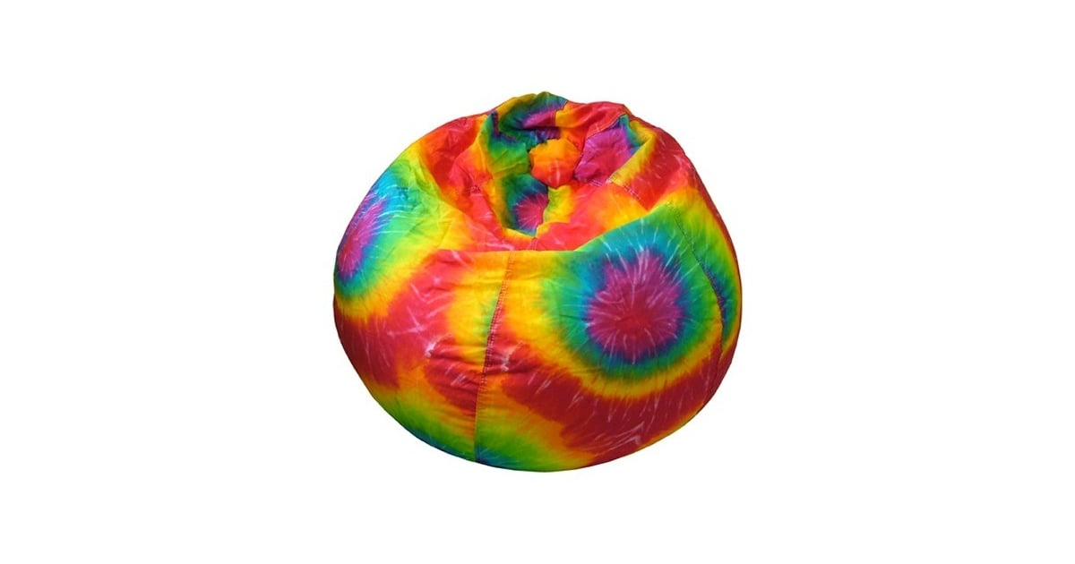 Rainbow Tie Dye Bean Bag Chair | Rainbow Room Decor For Kids | POPSUGAR  Family Photo 3