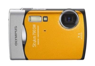 Olympus Waterproof Cam Permits Wet 'n Wild Photo Fun