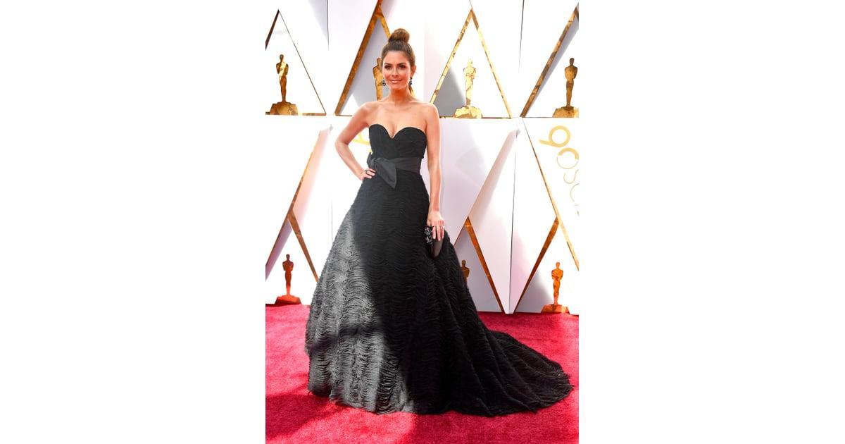 Maria Menounos | Oscars Red Carpet Dresses 2018 | POPSUGAR ...