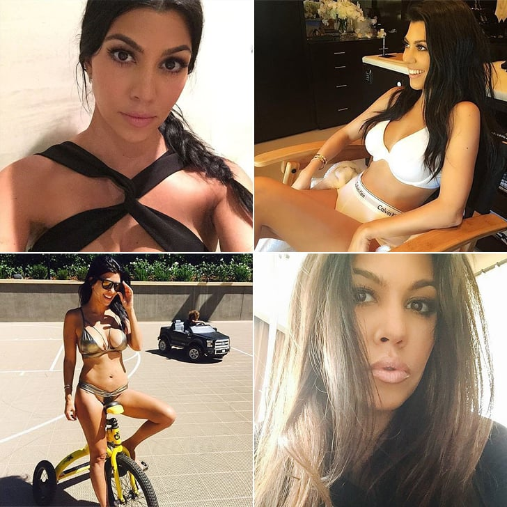 Feast Your Eyes on Kourtney Kardashian's Hottest Instagram Moments