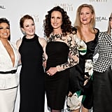The ladies of L'Oreal Paris — Eva Longoria, Julianne Moore, Andie MacDowell, Aimee Mullins, and Diane Keaton — attended the cosmetic company's Women of Worth Awards in NYC on Tuesday.
