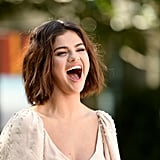 Selena Gomez Miu Miu Dress Hotel Transylvania 3 Photo Call
