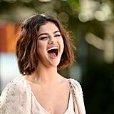 Selena Gomez Miu Miu Dress Hotel Transylvania 3 Photo Call