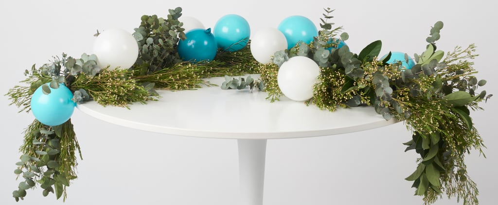 How to Make a Wedding Table Garland
