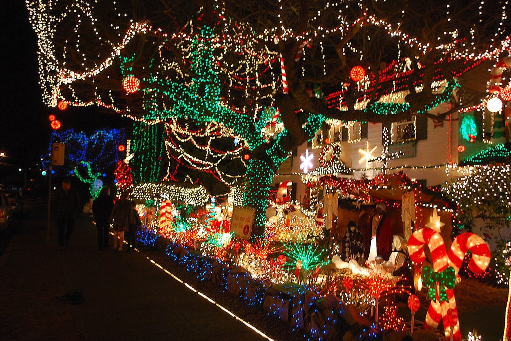 the most decorated christmas homes in america popsugar home - Christmas House Pictures