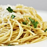 5-Ingredient Parmesan Garlic Spaghetti