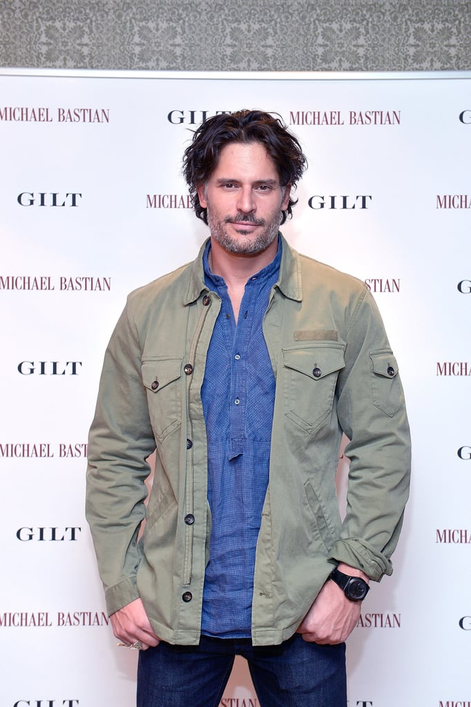 Joe Manganiello stopped by the launch of the MB Chronowing Smartwatch on Thursday in LA.