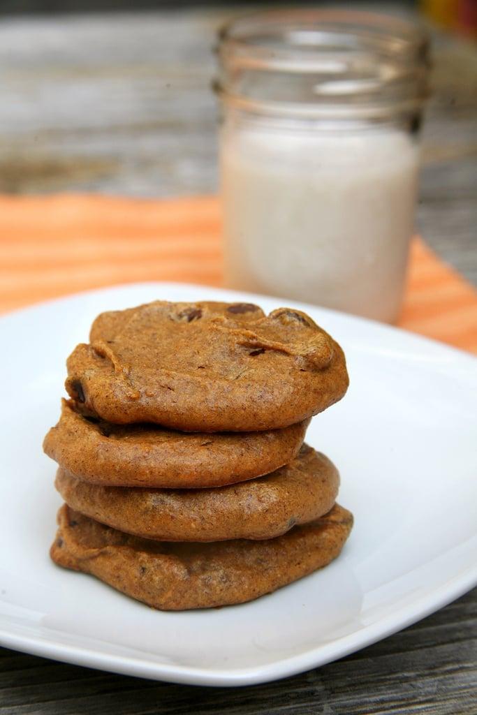 Low Calorie Pumpkin Chocolate Chip Cookies Recipe
