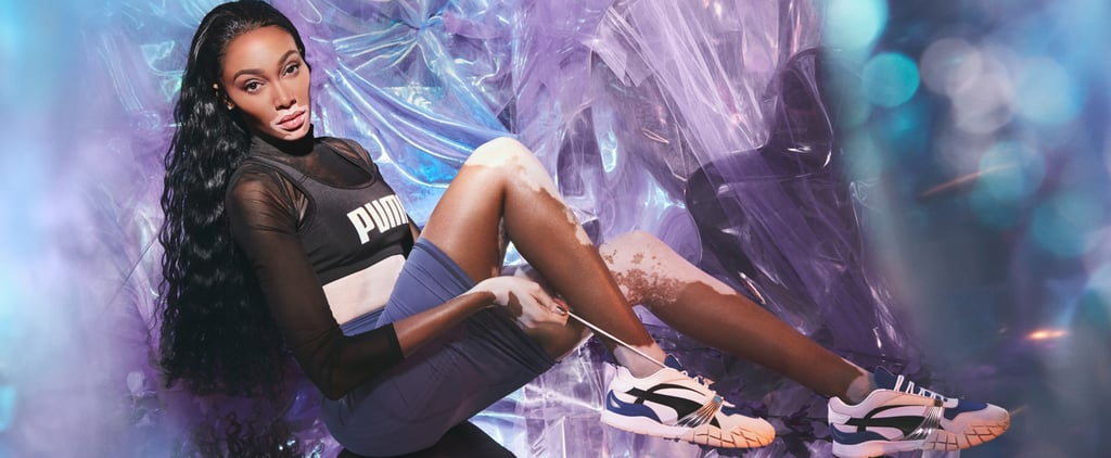 See Winnie Harlow Model Puma's New Kyron Awakening Sneakers