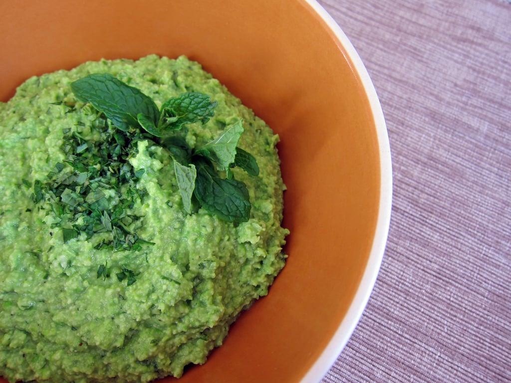 Vegetarian Appetizers: Edamame Hummus