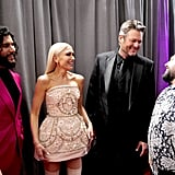 Dan Smyers, Gwen Stefani, Blake Shelton, and Shay Mooney at the 2020 Grammys